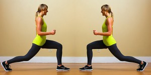 REAR LUNGES 1