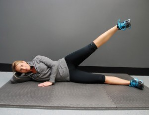 SIDE LYING LEG LIFTS