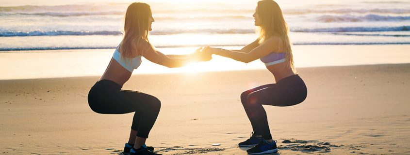Chavas fit haciendo ejercicio.