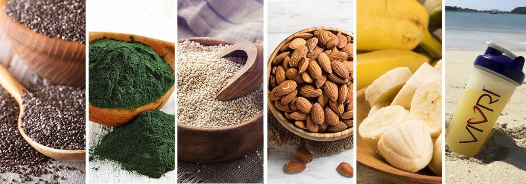 6 súper alimentos que te dan energía.