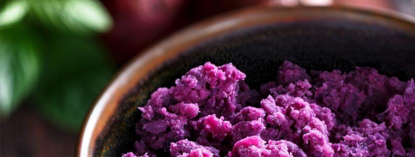 Purple Sweet Potato Puree